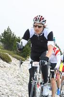 4 km voor de top van de de Ventoux